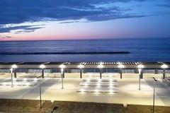 Bari, sul lungomare di San Girolamo arriva la nuova illuminazione