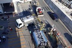 Bari, terminati i lavori di ripristino della conduttura di Acquedotto pugliese in via Capruzzi