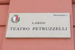 "Bari, ecco largo ""teatro Petruzzelli"""