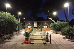Bari, entro marzo telecamere e illuminazione nella pineta di San Francesco lato mare