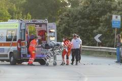 Incidente auto-moto a Putignano, centauro in codice giallo in ospedale
