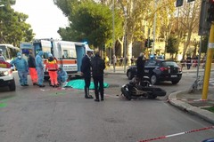Bari, auto contro moto. Morto centauro 39enne