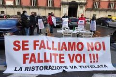 Presidi a oltranza e sciopero della fame, i ristoratori in piazza a Bari