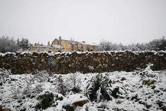 La neve è arrivata in provincia di Bari, mentre in città piove