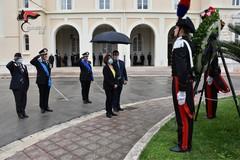 La Legione Carabinieri Puglia festeggia i 206 anni dell'Arma, premiato il militare ferito sul Gargano