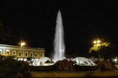 Torna a zampillare la fontana di piazza Moro a Bari