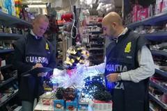 """""""Natale sicuro"""", a Bari la Finanza sequestra merce pericolosa per oltre un milione di euro"""