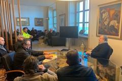 """Emiliano riceve i pescatori in protesta: """"Stiamo studiando un ricorso alla Corte di Giustizia Europea"""""""