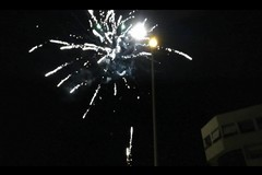 Fuochi d'artificio per festeggiare lo scudetto dell'Inter, denunciato 58enne