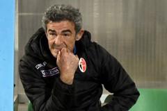 Monopoli-Bari 0-0, Auteri: «Abbiamo giocato per vincere. Arbitro? Non sempre con lo stesso metro»