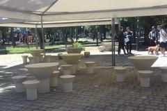Libertà, in piazza Garibaldi arrivano gazebo e nuove sedute