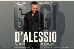 Gigi D'Alessio a Bari il 18 aprile, da domani la vendita dei biglietti