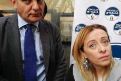 Giorgia Meloni a Bari per Filippo Melchiorre