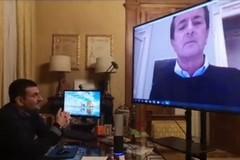 Decaro parla con il sindaco di Bergamo dell'emergenza Coronavirus