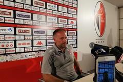 Sicula Leonzio-Bari 0-2, Cornacchini: «Conta solo il risultato». Di Cesare: «Basta polemiche»