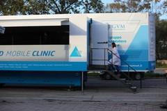 Prevenzione cardiologica a Bari con la clinica mobile della Santa Maria