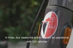Monopattini sharing, i veicoli brandizzati con il logo SSC Bari