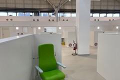 Bari, apre l'hub vaccinazioni nella Fiera del Levante: è il più grande in Puglia