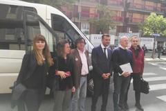 Giustizia a Bari, candidati sindaco in tour tra le otto sedi