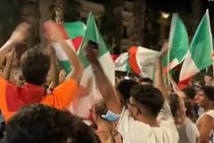 Bari festeggia l'Italia in finale agli Europei