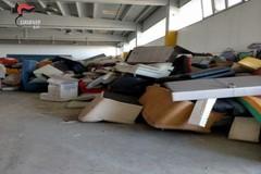 L'ex stabilimento Aia di Adelfia trasformato in discarica abusiva, 8 persone denunciate