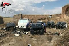 Auto rubate in provincia di Bari ritrovate nel foggiano, due denunce