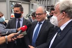 Emiliano a Bari con i ministri Gualtieri e Boccia