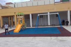 Quartiere San Pio a Bari, nuove giostre e un campo di calcio a 5
