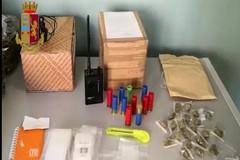 Droga e armi a San Pasquale e Bari vecchia. Maxi sequestro della Polizia per oltre 300 mila euro