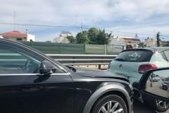 Bari, incidente sulla Statale 16, traffico bloccato in direzione Nord