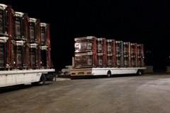Bari, Ruota Panoramica: arrivate le prime cabine