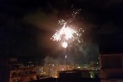 Fuochi d'artificio nei cieli di Bari, ordinanza ignorata in pieno