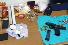 Droga e armi in manette pregiudicato 22enne