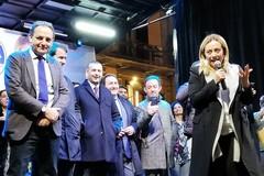 Giorgia Meloni a Bari per sostenere Filippo Melchiorre: «Vorrei un sindaco così»