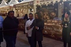 Festa del cioccolato, inaugurati gli stands in corso Vittorio Emanuele