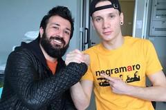 Il chitarrista dei Negramaro Spedicato fa visita a Manuel Bortuzzo, nuotatore vittima di sparatoria