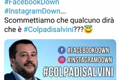 Facebook, Instagram e Whatsapp down? Lotta per le colpe tra Salvini e Decaro