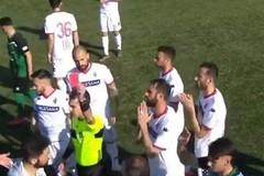 Palmese-Bari, il retroscena sul rosso a Quagliata. Lavilla: «L'arbitro aveva espulso me»