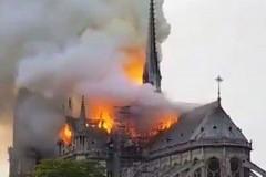 """Brucia Notre Dame. Decaro: """"Da baresi conosciamo quel dolore"""""""
