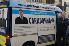 """Caradonna e la sua campagna elettorale itinerante: """"Con il pullmino tra la gente"""""""