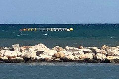 Bari, oggetto non identificato in mare, interviene la Guardia Costiera
