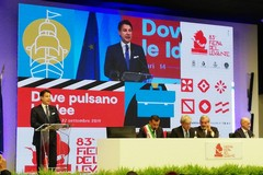Il discorso del premier Giuseppe Conte inaugura la Fiera del Levante