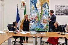 Municipio I di Bari, ecco la tela dipinta dai cittadini