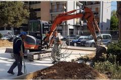 Poggiofranco, riparte il cantiere di piazzetta dei Papi