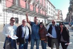 Agenti di polizia in sit-in a Bari: «Il Governo non ha mantenuto le promesse»