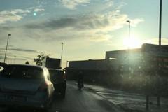 Incidente ai curvoni di Palese, traffico deviato