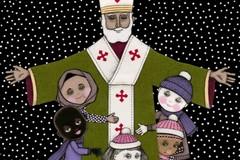 San Nicola aspetta i bambini in Basilica a Bari, cioccolata in cambio di una candelina
