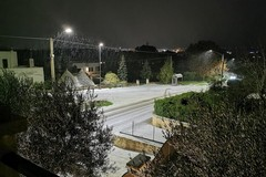 Continua il maltempo in Puglia, previste nuove nevicate e vento forte
