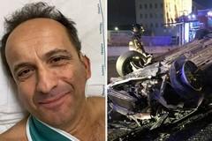 «Ma lavorate veramente il 31 sera?», De Santis scherza coi medici a Bari dopo l'incidente