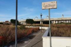 Bari, al San Paolo una stradina degradata per raggiungere la metro